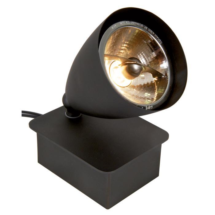 1958/.. - VOLTA, tafellamp - richtbaar - met schakelaar - snoer en stekker - met transfo
