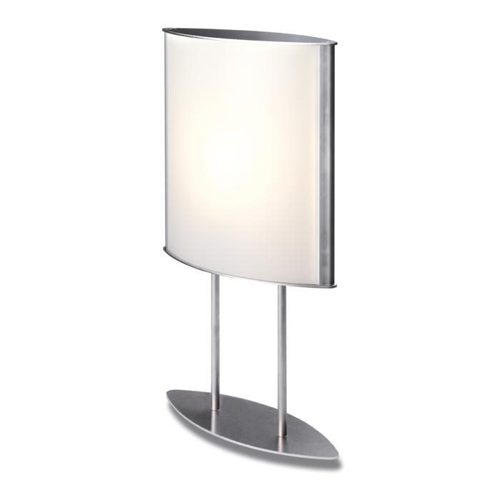 1540/.. - WING TABLE LAMP, tafellamp - met schakelaar - snoer en stekker - met magnetische ballast