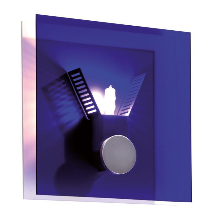 1294B/.. - XENON, opbouw wandlicht - met blauw glas