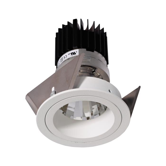 XTM.1300.10028.S2/.. - LUXOR Ø70, inbouwspot - rond - vast - met led - zonder LED driver