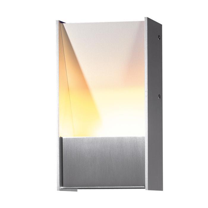 1281LED/.. - ZEN LED, opbouw wandlicht - vierkant - vast - up