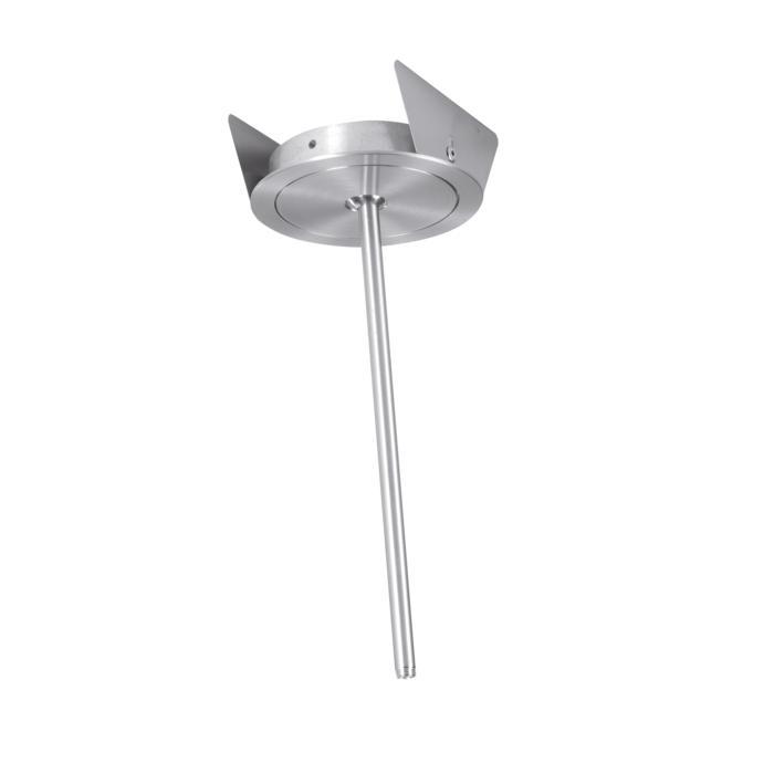 ZENO35B3/.. - Ø65, inbouwbasis voor pendel met bolgewricht - rond - down - zonder transfo