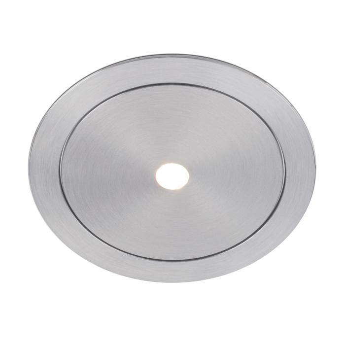 ZENO50/.. - Ø80, inbouwbasis voor spot of pendel - rond - zonder transfo