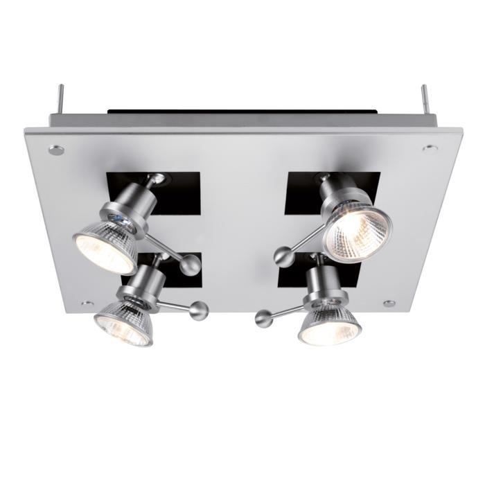 864A/.. - ZOOM TWIST, plafondverlichting - spots inbegrepen - met transfo