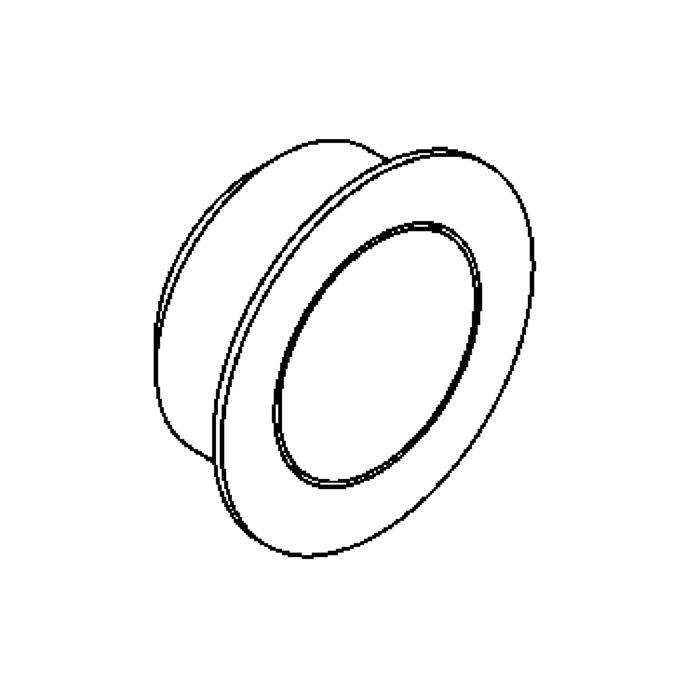 Drawing of ZIAMINILED/.. - Ø29, inbouw plafond- en wandlicht - rond - zonder LED driver