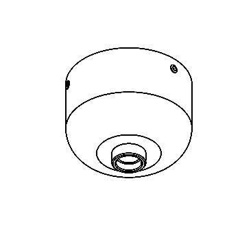 Drawing of 011/.. - JACK, jack - opbouwrozet voor jack