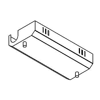 Drawing of 007/.. - TRANSFORMER BOX, transfodoos - leeg voor monorail 12V - zonder transfo