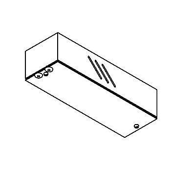Drawing of 012/.. - TRANSFORMER BOX, transfodoos - leeg - zonder transfo