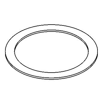 Drawing of 100.80/.. - ADAPTION RING, toebehoren - vergrootring rond