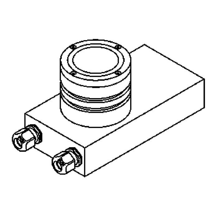 Drawing of 1110/.. - ETNA, vloerspot - richtbaar - met transfo