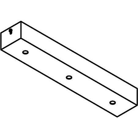 Drawing of 809.ZT/.. - JUBA ZT, plafondverlichting zonder spot of pendel - 32cm - zonder transfo