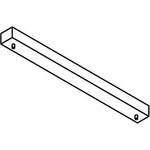 Drawing of 817.ZT/.. - JUBA ZT, plafondverlichting zonder spot of pendel - 60cm- zonder transfo's