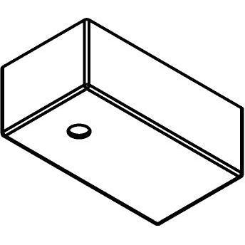 Drawing of 807.ZT/.. - JUBA ZT, plafondverlichting zonder spot of pendel - 10cm - zonder transfo