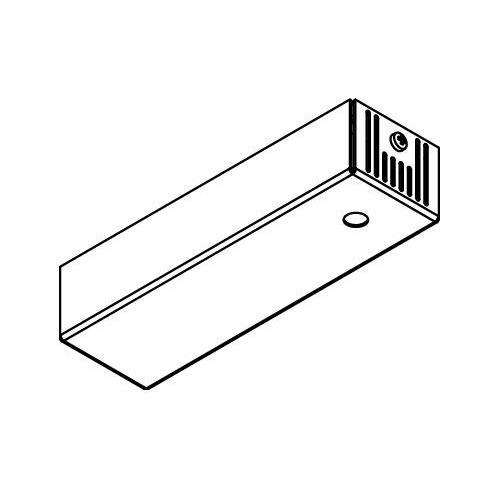 Drawing of 045.500MA/.. - BASIS VOOR OPBOUWSPOT, rechthoekige basis voor opbouwspot - met LED driver