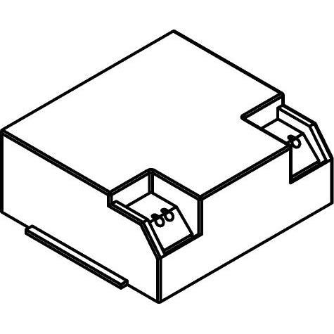 Drawing of TR122790/.. - DRIVER, driver - DC 12W - BMU 12W 350mA - pas dimmable