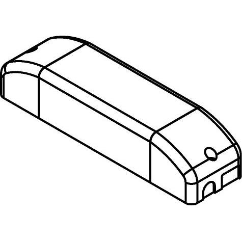 Drawing of TR122260/.. - MULTI DRIVER, multi driver - JOLLY MD PUSH  17W 350mA - 24W 500mA - 32W 700mA - DIMBAAR - PUSH - FASE AAN- EN AFSNIJDING