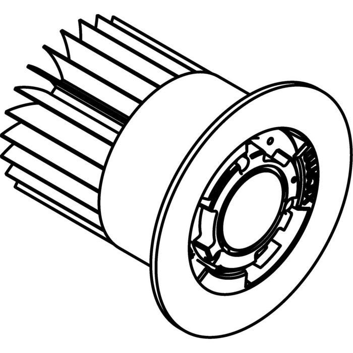 Drawing of 3303.700mA/.. - MAGMA LED MODULE XICATO, accessoires pour éclairage de jardin - fixe