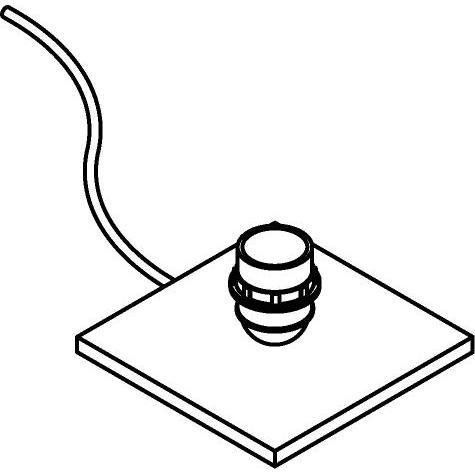Drawing of 999X/.. - VOGUE, lampe de table - sans abat-jour - avec interrupteur + fil