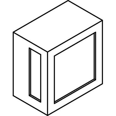 Drawing of W732/.. - POLO, opbouw wandlicht