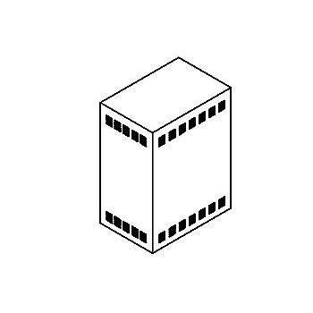 Drawing of TR30X/.. - NEW TRANSFOKAST PERFO, transfokast - voor transfos of led drivers