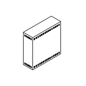 Drawing of TR60X/.. - NEW TRANSFOKAST PERFO, transfokast - voor transfos of led drivers