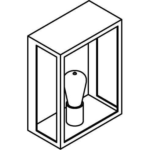 Drawing of W737/.. - POLO, opbouw wandlicht