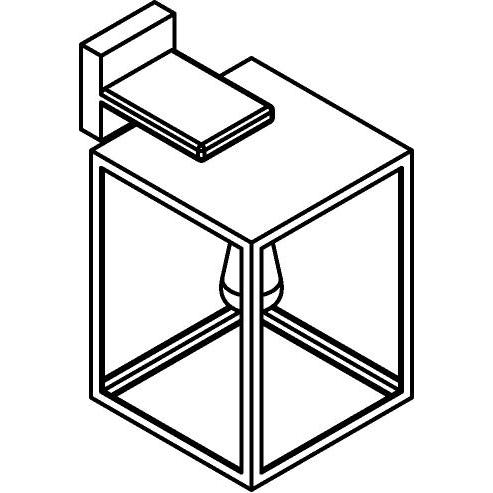 Drawing of W751/.. - POLO, opbouw wandlicht
