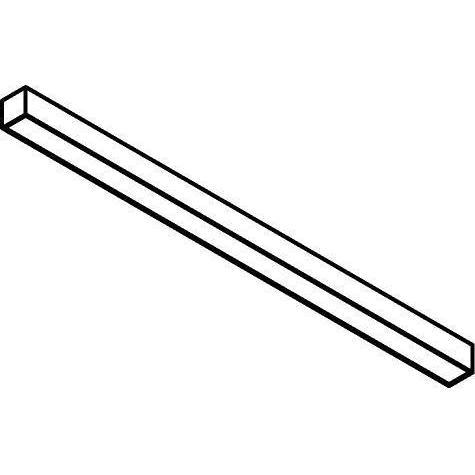 Drawing of 2980.600/.. - TIMES T5-60X85, lichtsysteem - bevestiging rechtstreeks op plafond - met electronische ballast