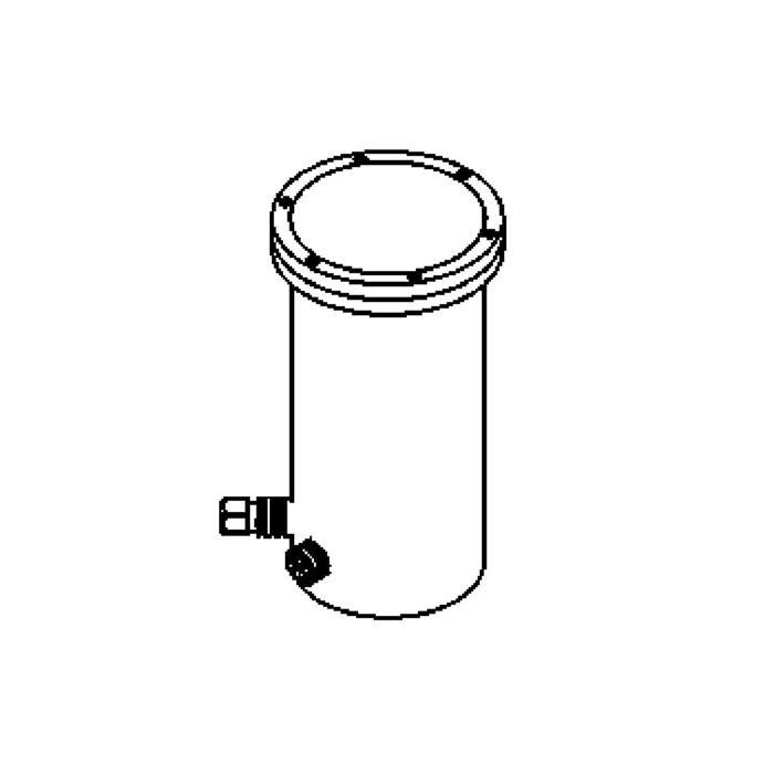 Drawing of 2372.9/.. - LAVA GRANDE, grondspot - richtbaar - up - met LED driver