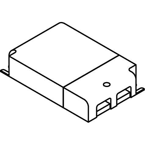 Drawing of TR127413/.. - MULTI DRIVER - TRANSFO, Multidriver |25W 350mA|35w 500mA|50W 700mA|50W 1050mA|50W 48VDC - DALI DIM-PUSH- 1-10V