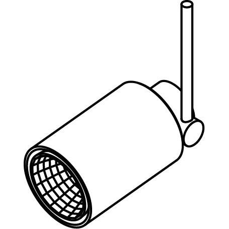 Drawing of 7530/.. - TONDO XICATO, opbouwspot LED M10 - rond - richtbaar - down - zonder LED driver