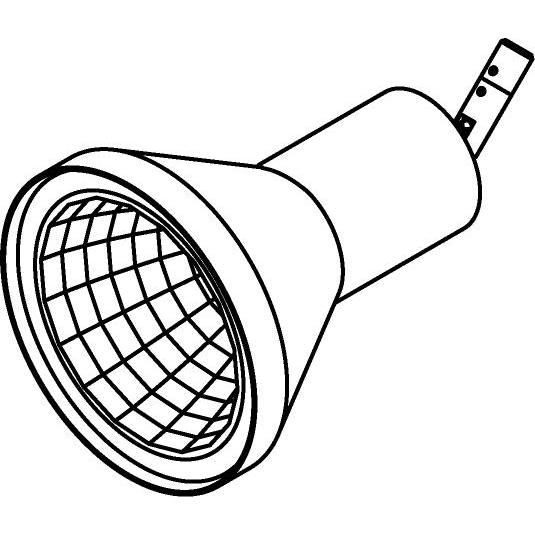 Drawing of 7538/.. - TONDO XICATO, opbouwspot LED M10 - rond - richtbaar - down - zonder LED driver