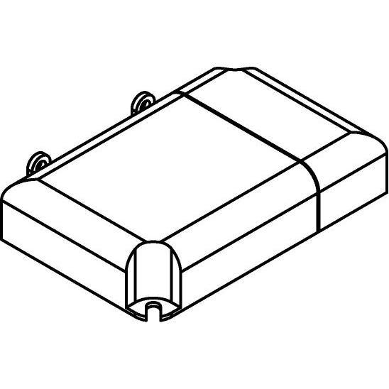 Drawing of TRLCM25/.. - MULTI DRIVER, multi driver - Multidriver 25W 350mA|25W 700mA|25W 1050mA - DIMMING 0-10V