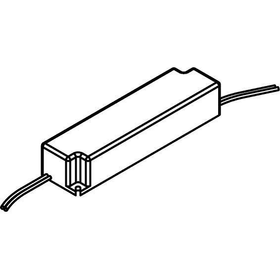 Drawing of LPV2024/.. - TRANSFO, transfo - 20W 24VDC