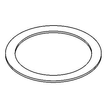 Drawing of ADAPTION RD/.. - ADAPTION RING, toebehoren - rond - vergrootring rond