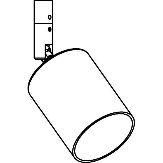 Drawing of 5037X/.. - MAESTRO, opbouwspot M10 - rond - richtbaar