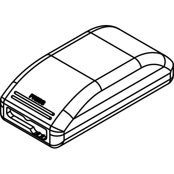 Drawing of TR87500387/.. - TRIDONIC DRIVER, driver