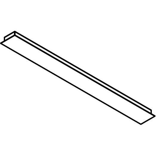 Drawing of 701.1200/.. - TEXO, rechthoekige basis voor opbouwspot of pendel