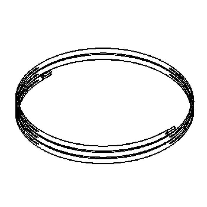 Drawing of T7046/.. - UFO MINI, extra kabel per meter (zwart)
