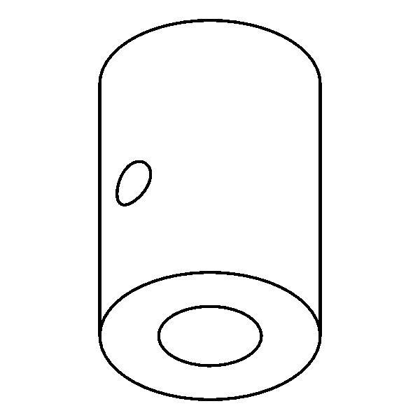 Drawing of P039/.. - STRAIN RELIEF - TREKONTLASTING, trekontlasting