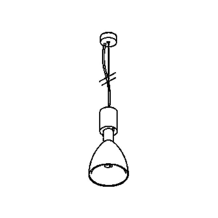 Drawing of 1803LED/.. - TWIPE, hanglamp - met LED driver