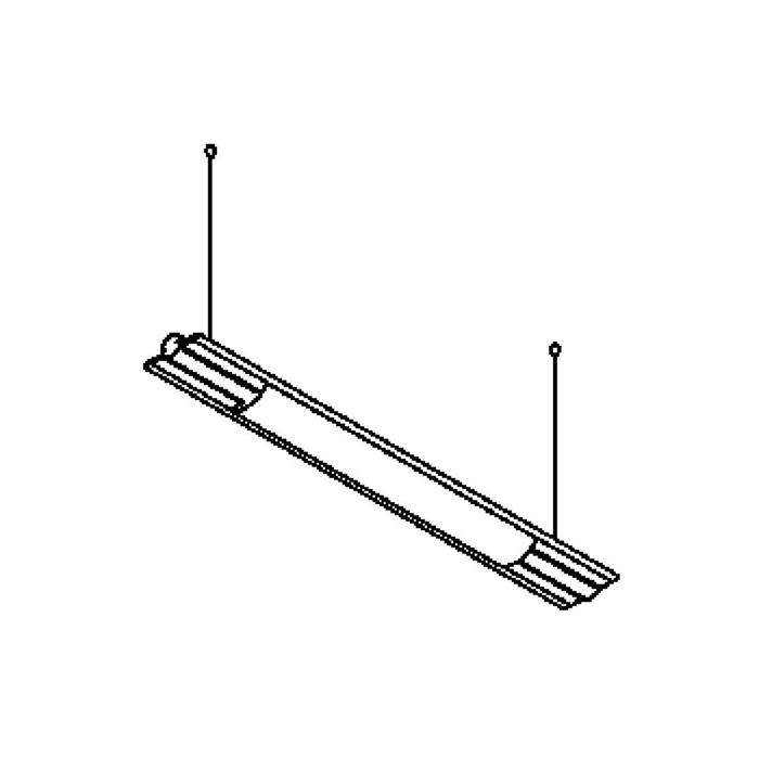 Drawing of 2801LED/.. - BUTTERFLY LED, lichtsysteem