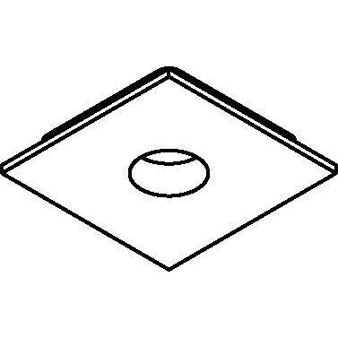 Drawing of 8207/.. - STILETTO, Afdekplaat voor pendel met swivel B3