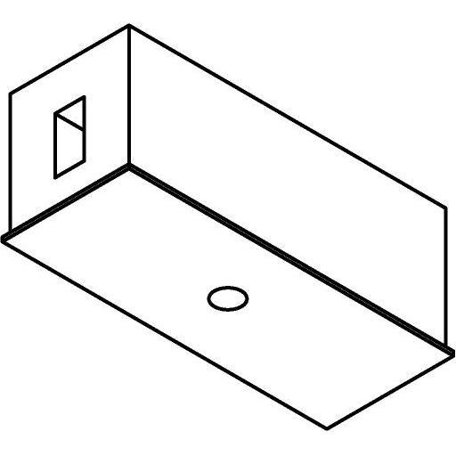 Drawing of 8220/.. - STILETTO, Verbindingsdoos met afdekplaat voor spot of pendel