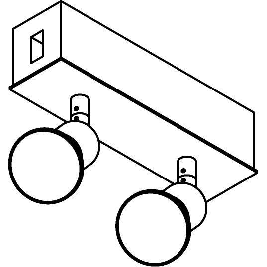 Drawing of 8235/.. - STILETTO, Verbindingsdoos met 2x Capa op tige 5cm