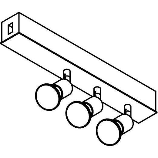 Drawing of 8246/.. - STILETTO, Verbindingsdoos met 3x Capa op tige 5cm