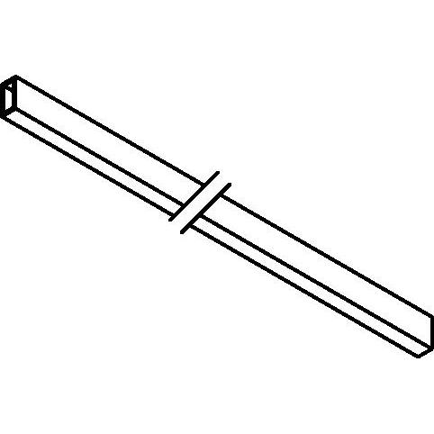 Drawing of 8254/.. - STILETTO, Verbindingsprofiel 1500mm Kabel 3x1 inbegrepen