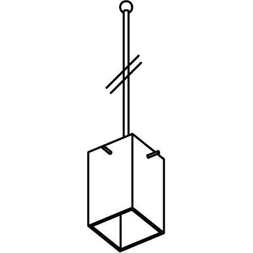 Drawing of 4024.G9.B3/.. - MAXI, hanglamp met bolgewricht - stang inkortbaar