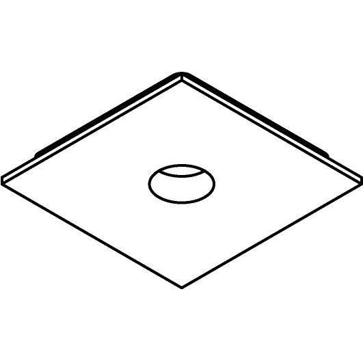 Drawing of 8298/.. - STILETTO, Afdekplaat voor pendel met swivel B3