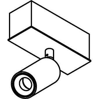 Drawing of 8317/.. - STELLA, opbouw plafondverlichting - richtbaar - met Jacob - met LED driver
